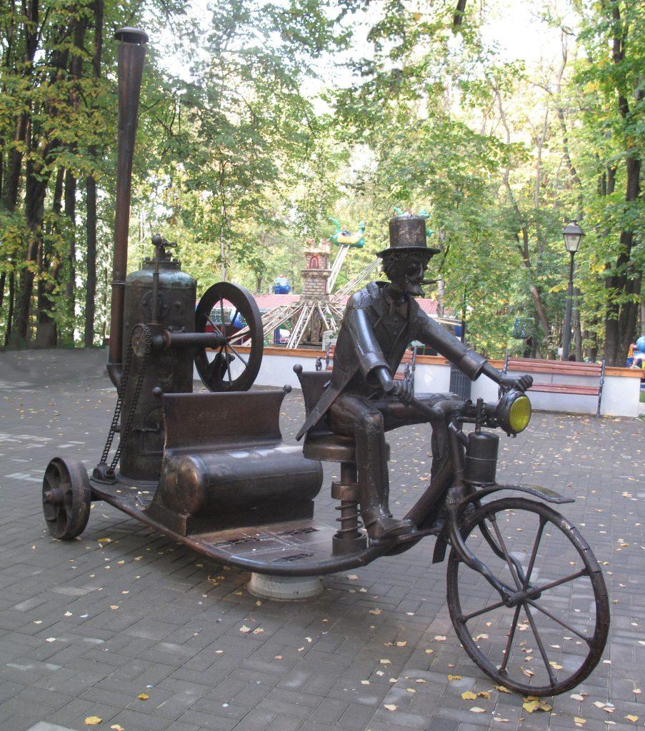Изобретатель на паровой машине